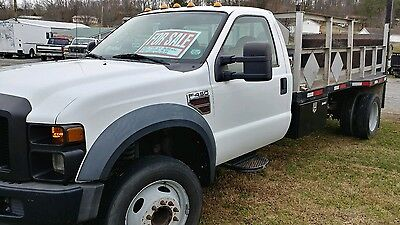 2008 Ford F450 12' Flatbed, Liftgate