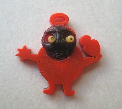 VINTAGE Celluloid Japanese KOBE CREATURE Charm POP OUT EYES