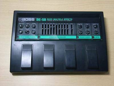 Boss Be-5B Be5 Guitar Or Bass Multi Effects Pedal & Power Supply