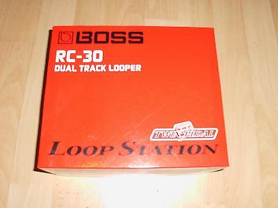 Boss RC-30 Loop Station Effects Pedal