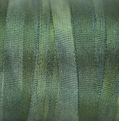 4mm Silk Ribbon for Embroidery - 3 meters Pine