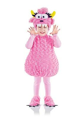 Belly Babies Pink Monster Costume Child Toddler