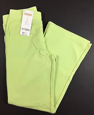 New Gymboree size 6 girls lime green pants Tea Time Afternoon NWT