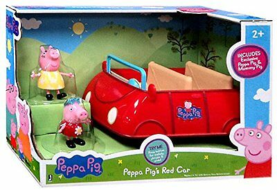 Peppa Pig Red Car and Figure Set