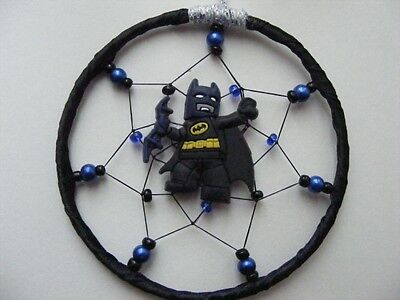 New BATMAN MINI Dreamcatcher Bedroom Dream Catcher Birthday gift UK MADE