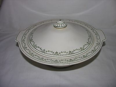 Vintage Alfred Meakin The India Tree Round Covered Vegetable Dish Bowl