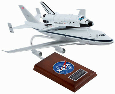 """Airplane NASA Boeing B747-100 & Shuttle Space Exploration 19.5""""  Model Aircraft"""
