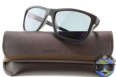 65c81229351d Giorgio Armani Sunglasses AR8046 5063 81 Matte Black w Dark Grey Polarized  58mm
