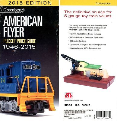 Greenberg's American Flyer Trains 1946-2015 Pocket Price Guide * New, Sealed