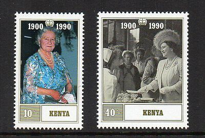 Kenya - 90th Birthday of the Queen Mother (1990) MNH