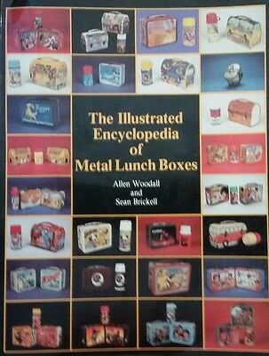 Antique METAL lunch box VALUE GUIDE COLLECTOR'S BOOK Thermos Carry Als Foreign++