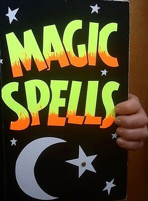 Book of Magic Spells. Magic Trick.