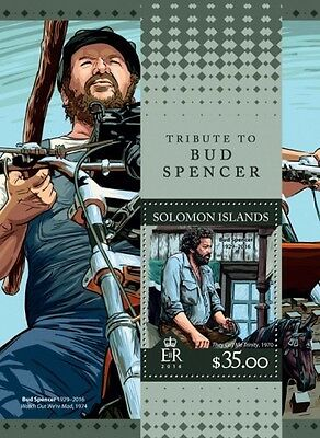 Z08 SLM16302b Îles Salomon 2016 Bud Spencer MNH