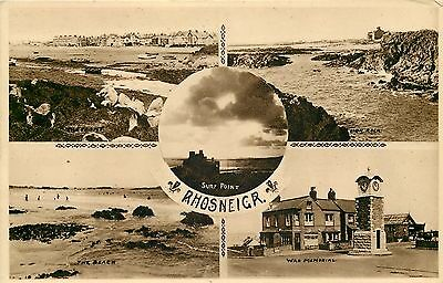 s08880 Rhosneigr, Anglesey, Wales postcard unposted