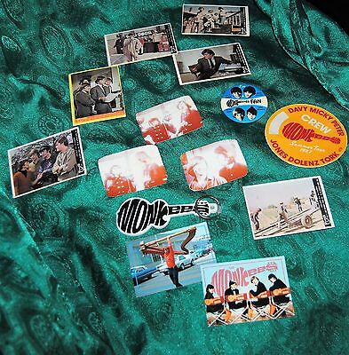 Monkees Various Vintage Small Items