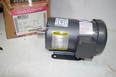 Baldor 1.1Hp Ac Motor # Mm3550  208-230/460Vac 60Hz.  3450Rpm