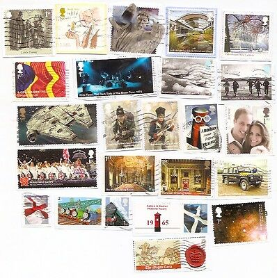 GB Rare Commems from Miniature Sheets.