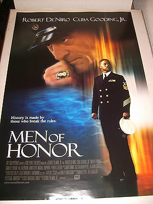 MEN OF HONOR 2000 US AUTHENTIC ORIGINAL 27x40 SS MOVIE POSTER