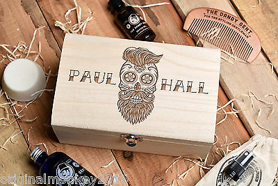 Beard Grooming Kit. Beard Oil Gift Set, Personalised Gift Set. Gift For Him
