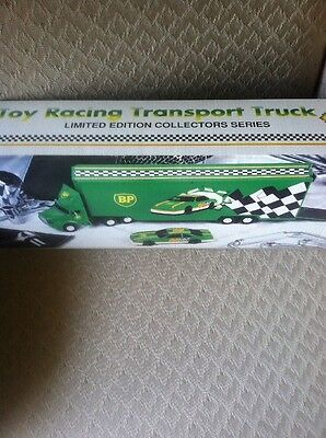 NEW BP Toy Racing Transport Truck Limited Edition