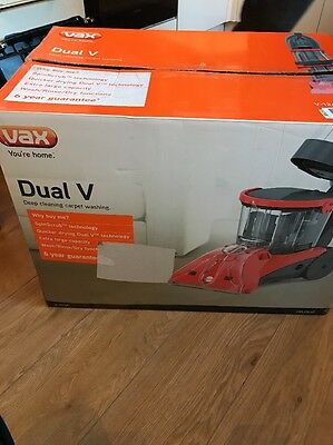 Vax V-124A Dual V Upright Carpet and Upholstery Washer