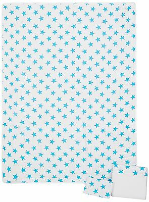 aden + anais Classic Toddler Bed in a Bag - Fluro Blue Kids Bedding Sets: Tod...