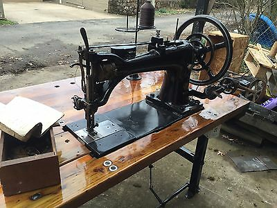 Great Singer Model 7-34 Industrial Sewing Machine
