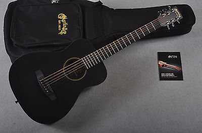 NEW LX Black Little Martin Acoustic Guitar - Small Size Children Childs
