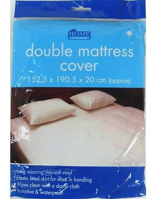 Double Mattress Cover Washable Protector Waterproof Mattress Cover