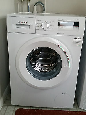 Bosch WAN28000GB A+++ Energy Rating 7kg Load 1400 Spin Washing Machine White