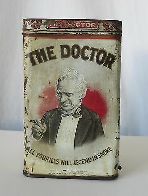The Doctor Cigar Antique Tin, H.s. Meiskey's Sons