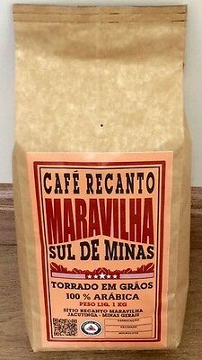 Roasted Coffee Beans From Brazil Sul Minas Recanto Maravilha 106oz/6,60lbs