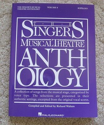 Singers Musical Theatre Anthology Soprano