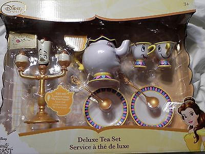 Disney Beauty and the Beast Deluxe Singing Tea Set 2017