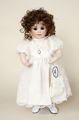 Mary Elizabeth porcelain collectible doll by Jerri McCloud
