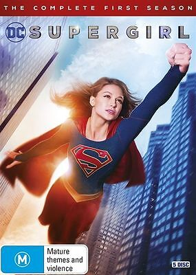 Supergirl The Complete First Season 1 BRAND NEW SEALED R4 DVD