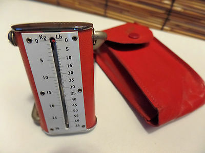 Vintage Air Light Travel Scale/luggage Pocket Scale