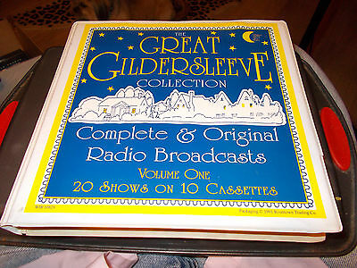 The Great Gildersleeve Collection Volume One 20 Shows On 10 Cassettes