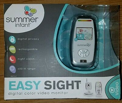 New Summer Infant EASY SIGHT Digital Color Video Monitor 28870AZ Night Vision