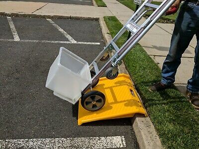 Portable Plastic Curb Ramp (By 10 and Get 1 FREE)