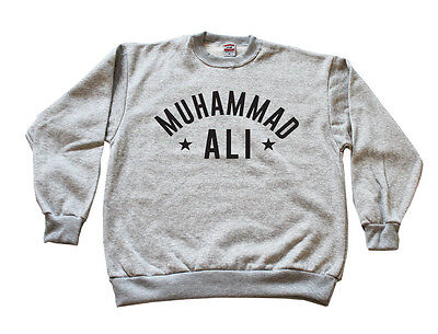 Muhammad Ali Crewneck Cassius Clay Hoodie The Greatest Boxing Legend Multi Color