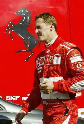 "003 Michael Schumacher - Mercedes Germany F1 Racing Driver 14""x20"" Poster"