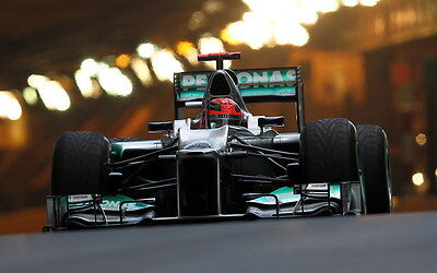 "050 Michael Schumacher - Mercedes Germany F1 Racing Driver 22""x14"" Poster"