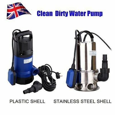 Dirty / Clean Submersible Electric Water Pump Swimming Pool Pond Flood Drain Sum