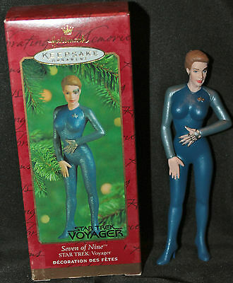 2000 Star Trek Voyager Seven Of Nine Hallmark Keepsake Christmas Ornament