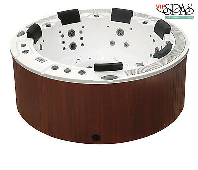 Round Elegant Spa- Portable Hot Tub- Jacuzzi From VIP SPAS