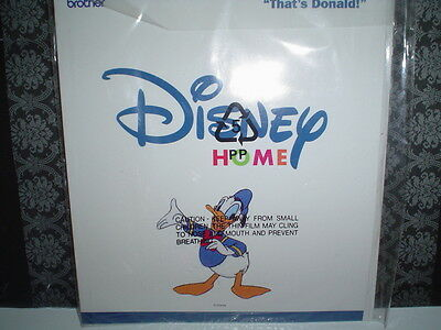 OOP Brother Disney Embroidery Machine Card  That's Donald