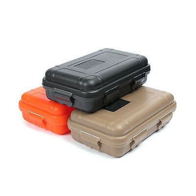 Waterproof Shockproof Sports Plastic Survival Container Storage Case Carry Box