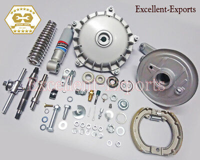 Vespa VLB 10 inches Front Suspension Repair kit with Drum and hub new V1175