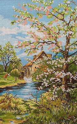 "Tapestry Gobelin Needlepoint Kit ""Spring"" printed canvas  103"